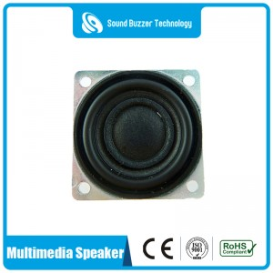 Professional audio speaker 28*28mm 4 ohm loudspeaker