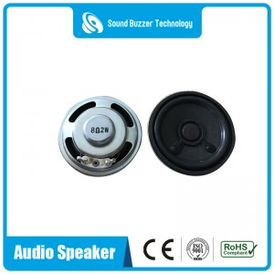 Best bass sound quality loudspeaker 50mm 8ohm intercom speaker