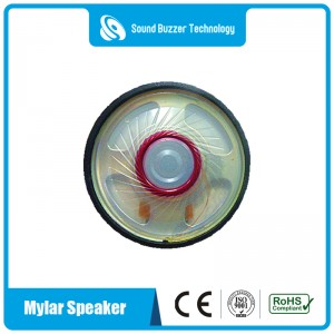 Mini speaker parts for headset 40mm 50ohm waterproof speaker
