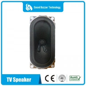 Good sound quality tv speaker 2″*5″ powered loudspeaker