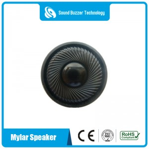 Good sound quality audio spaeker 36mm 8ohm  micro speaker for earphone
