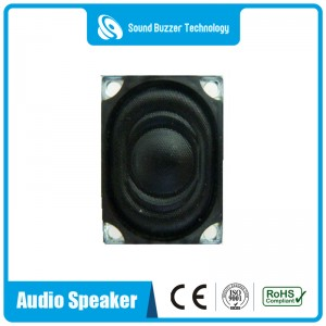 New design laptop speaker 20*27mm 4 Ohm 3W