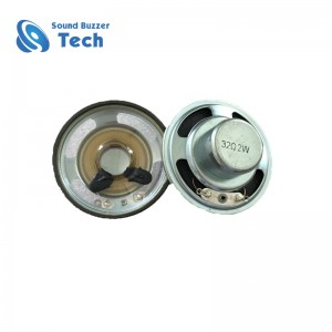 High performance speaker driver with neodymium magnetic 50mm 32ohm waterproof loudspeaker