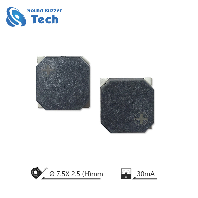 Passive Piezo Buzzer 7.5*2.5mm Audio Transducer Acoustic component Featured Image