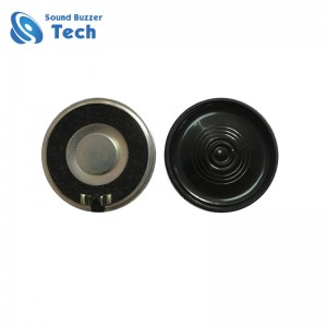 Big sound small audio speaker 36mm loudspeaker 50 ohm 1 w speaker
