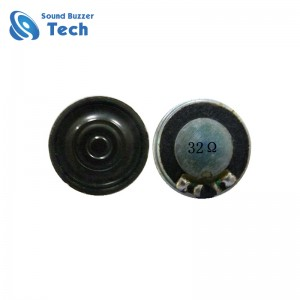 Fast delivery time mylar speaker 20mm mini speaker 32ohm 0.5 watt