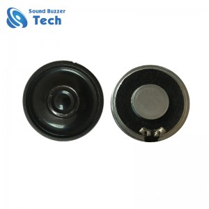 Mobilephone radio and toy use speaker 36mm 8ohm 0.5w ultra thin speaker