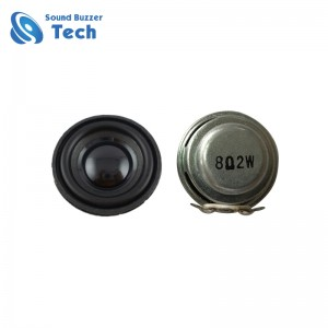 Best multimedia speaker parts for music box 8 ohm 2w 30mm speaker
