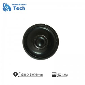 Cheap mylar speaker 36mm 4ohm mini speaker driver