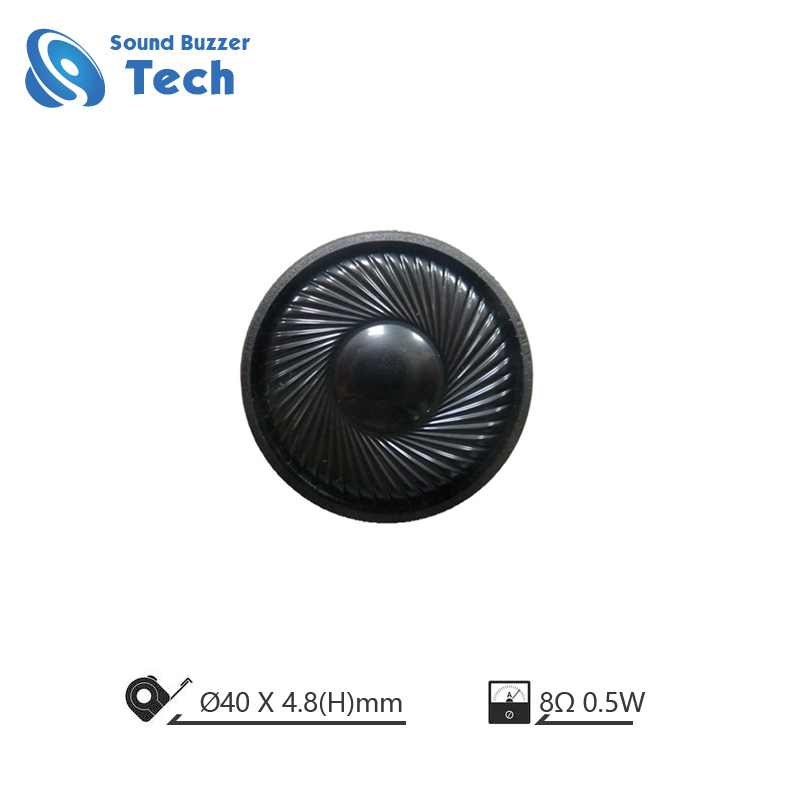 Wholesale price speaker 40mm 8ohm 1W Mounting Holes Speaker Featured Image