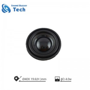 Unit Free Sample mirco speaker 4ohm 3W 40MM Speaker