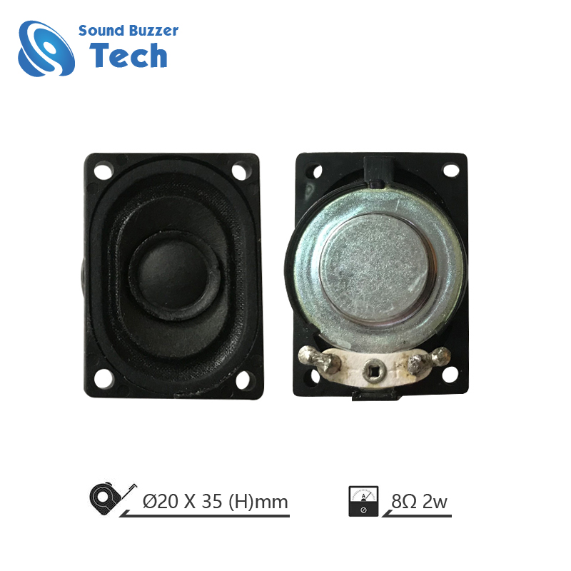 Good sound Media loudspeaker 20x35mm 8ohm 2watt speaker driver Featured Image