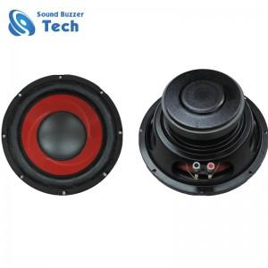 Full range 10 inch subwoofer speaker 255mm 4 ohm 100w speaker