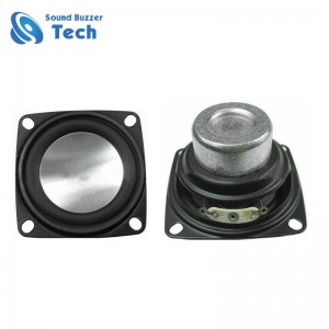 Professional speaker parts 52x52mm best bass woofer 2 inch 4 ohm speaker 10w