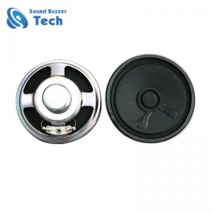 Fast delivery loudspeaker parts with good bass sound 50mm 50 ohm speaker