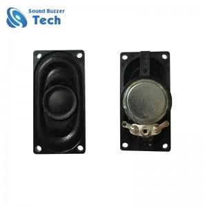 Hot sell inner magnetic speaker drivers for medical device 40x20mm square speaker